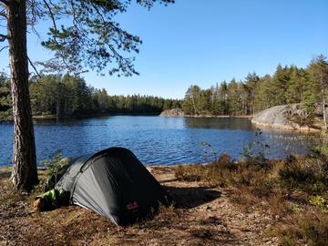 Vuokrataan (päivä): Jack Wolfskin Gossamer II teltta