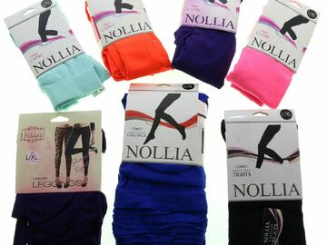 Liquidation/Wholesale Lot: Name Brand Fashion Leggings for Women, Assorted Styles & Colors