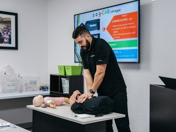 Services: CPR & First Aid Training