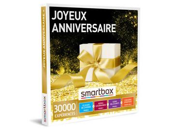"""Vente: Coffret Smartbox """"Joyeux Anniversaire"""" (49,90€)"""