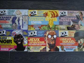 """Vente: Lot de 6 revues """"XXI"""" - """"L'information grand format"""""""