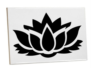 For Sale: Bathroom/Kitchen Tiles Heat printed Lotus Flowers