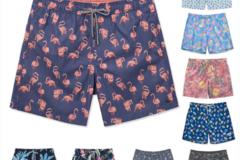 Liquidation/Wholesale Lot: MENS ASSORTED STYLE SWIM TRUNKS (PACK OF 18)