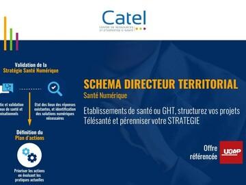 Mise en relation sans paiement en ligne: Réalisation d'un Schéma Directeur Territorial e-santé