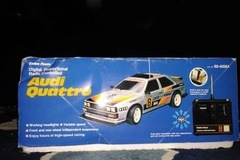 Selling: 1985 Audi Quattro remote control race car RADIO SHACK