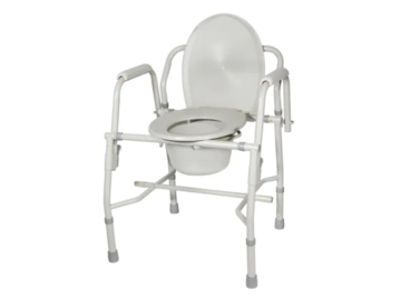 SALE: Commode Chair with Drop Arms