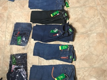 Liquidation/Wholesale Lot: Bundle of Flare Jeans New With Tags