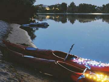 Weekly Rate: 2 X Sea Kayak (delivered) Gold Coast