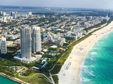 Daily Rentals: South Beach Miami FL, Parking In Residential Lot Off Lincoln Road