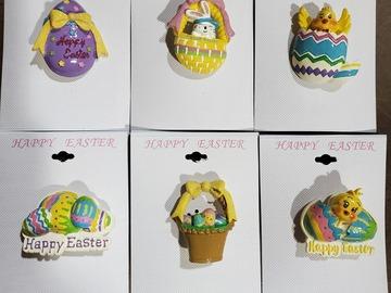 Liquidation/Wholesale Lot: 20 Dozen Lot of Assorted Easter Pins