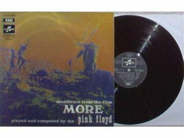 Vente: Vinyl 33T PINK FLOYD MORE C 062-04096 avec onglet disquaire TTBE