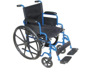 SALE: Drive Blue Streak Standard Wheelchair