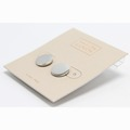 Liquidation/Wholesale Lot: Dozen Silver Button Earrings from Nordstrom Rack
