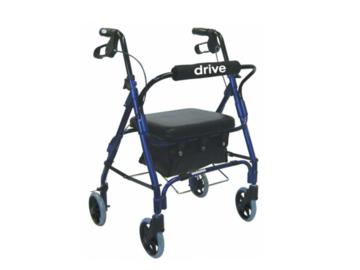 SALE: Deluxe 4 Wheel Rollator