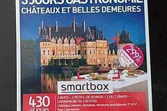 Vente: Smartbox 3 jours gastronomie châteaux et belles demeures -299,90€