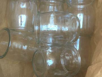 Demande: Recherche pots de yaourts vides en verre avec couvercle
