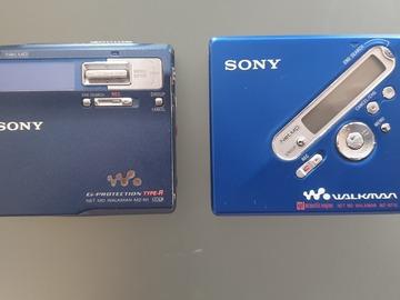 À vendre: A vendre deux lecteur mini disk sony