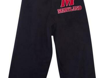 Selling A Singular Item: New Maryland Patch fuzzy Lounge Pants