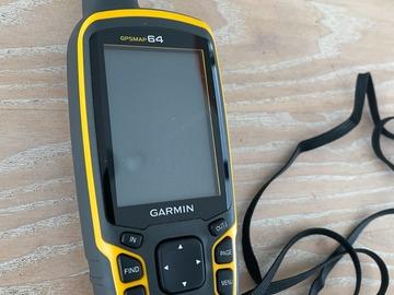 Til leie (per uke): GPS, Garmin GPSMAP 64