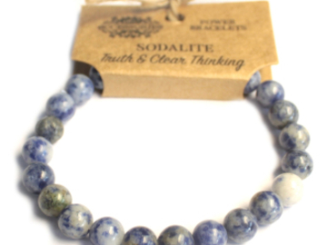 Selling: Power Bracelet - Sodalite - TRUTH & CLEAR THINKING