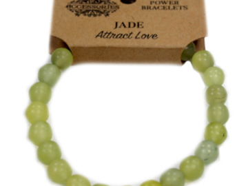 Selling: Power Bracelet - Jade - ATTRACT LOVE
