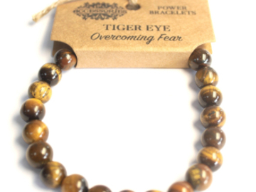 Selling: Power Bracelet - Tiger Eye - OVERCOMING FEAR