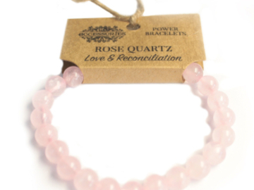 Selling: Power Bracelet - Rose Quartz - LOVE & RECONCILIATION