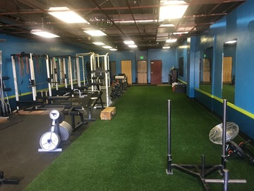 List a Space: 2000 square foot gym