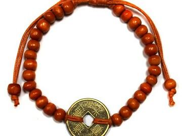 Selling: Good Luck Feng-Shui Bracelets - Orange