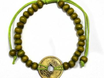 Selling:  Good Luck Feng-Shui Bracelets - Lime Green