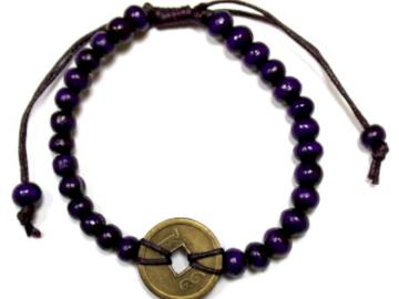Selling: Good Luck Feng-Shui Bracelets - Purple