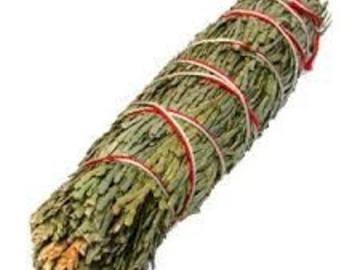 Selling: Smudge Stick - Cedar Mini Loose - 11 cm