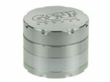 Post Now: G-Spot – Aluminum Magnetic Herb Grinder Silver 4 Part 50mm