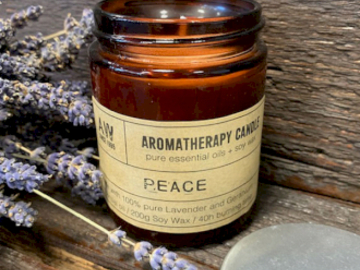 Selling: Aromatherapy Candle - Peace