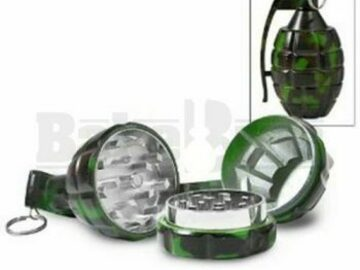 Post Now: Hand Grenade Style Pollen Grinder Camouflage Pack Of 6