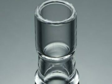Post Now: Clear Non Ground Dome (19mm)
