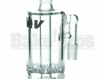 Post Now: Ashcatcher Honeycomb Showerhead Perc 90* Joint Clear Male 14mm