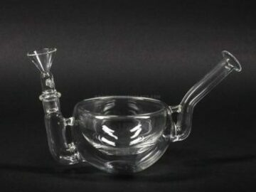 Post Now: No Label Glass Cereal Bowl Bong