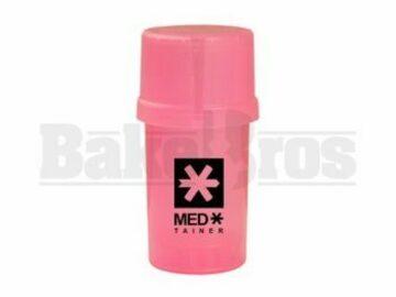 Post Now: Medtainer Container Grinder 3 Piece 3.5″ Translucent Pink
