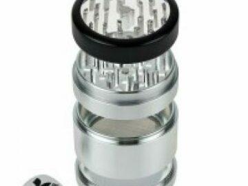 Post Now: Kannastör 2.5 inch Aluminium 4-part Grinder Clear Top