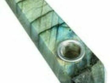Post Now: Labradorite Quartz Stone Pipe