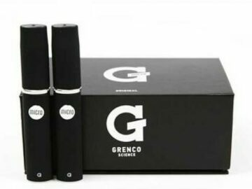 Post Now: Grenco Science G Pen Dual Quartz Vape Pen