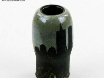 Post Now: Migoo Glass – Sandblasted Oval Dome New York Skyline 18mm