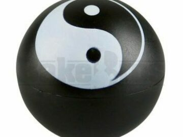 Post Now: Herb Grinder 2 Piece 2.2″ Yin & Yang Pack Of 1