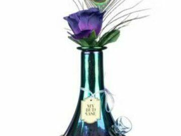 "Post Now: My Bud Vase – ""Aurora"" Water Pipe"