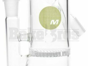 Post Now: Maverick Ashcatcher Honeycomb Angled Joint Clear Male 14mm