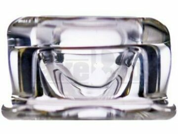 Post Now: Nvs Glass Bent Spout Carb Cap Stand Clear Genderless
