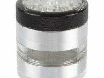 Post Now: Kannastör 2.2 inch Aluminium 4-part Grinder Clear Top
