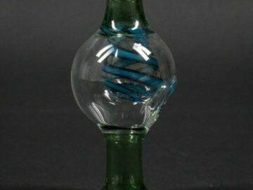 Post Now: No Label Glass UV Swirl Bubble Cap