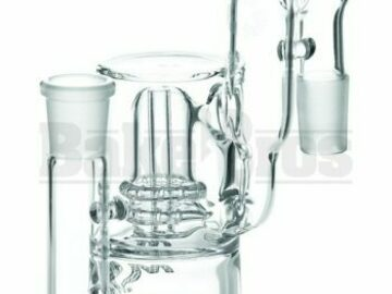 Post Now: Ashcatcher Perc Recycler L Config 90* Joint Clear Male 18mm